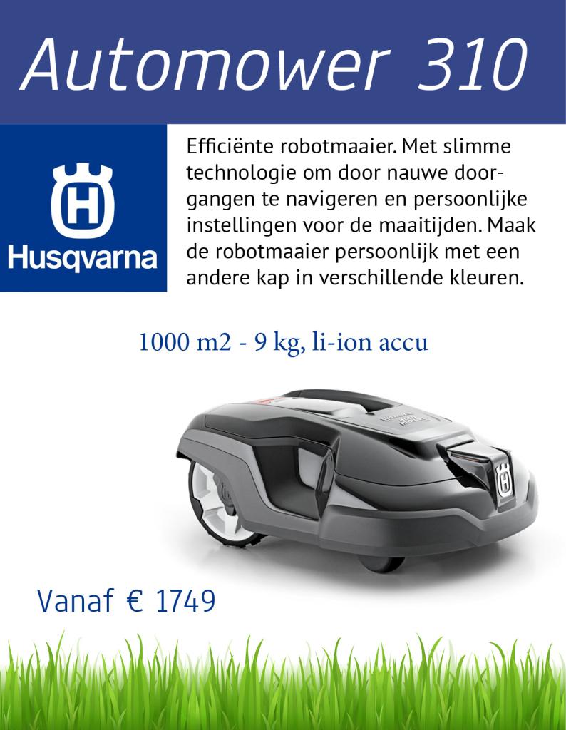 Husqvarna 310 | Tuinmachine-Service Leo de Visser
