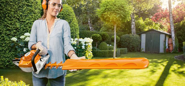 Stihl heggenscharen | Tuinmachine-Service Leo de Visser
